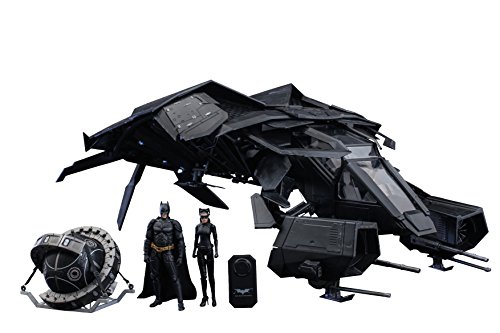 【送料無料】【Dark Knight Rises 1/12 Scale The Bat Deluxe Collectible Set】     b00mohfhuu