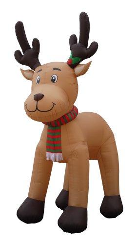 【JUMBO 15 Foot Christmas Inflatable Reindeer Decoration by BZB Goods】     b00kmcpgq4:生活総合倉庫