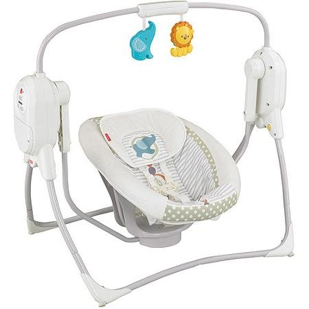 【SpaceSaver Swing and Seat - Fisher Price - Lion   Elephant Baby/Kids BFX349993】     b00nqx7zce:生活総合倉庫