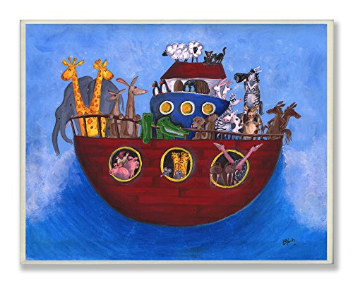 【The Kids Room by Stupell Noah's Ark Rectangle Wall Plaque by The Kids Room by Stupell】 b00soqqnq2