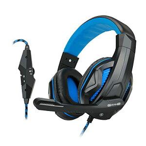 【送料無料】【ENHANCE GX-H2 ステレオゲーミングヘッドセット 快適な装着感のイヤー…