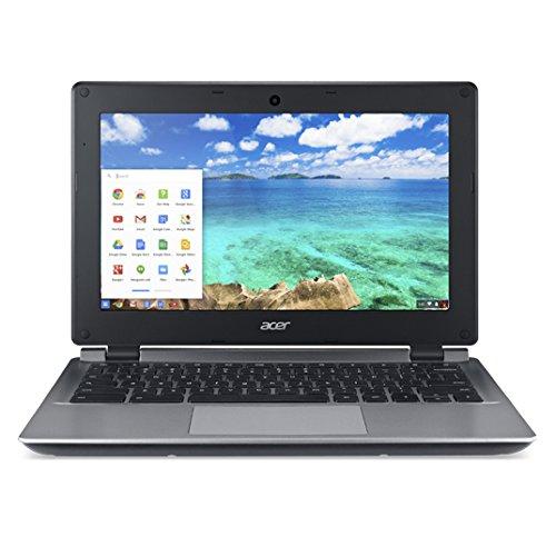 【Acer Chromebook C730E-C555 - Celeron N2840 / 2.16 GHz - Chrome OS - 4 GB RAM - 16 GB eMMC - 11.6  IPS 1366 x 768 ( HD ) - HD Graphics - 802.11ac - gray】     b017qki2fq:生活総合倉庫