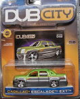 【Jada Dub City Metallic Mean Green & Silver Cadillac Escalade EXT 1:64 Scale Die Cast Car】 b001ez0jp6