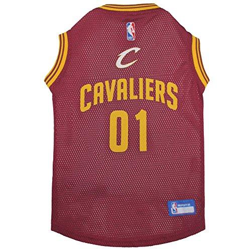 【Cleveland Cavaliers Dog Jersey Medium】 b01cm0keni