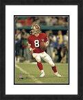 【NFL San Francisco 49ersスティーブ・ヤング、美しくFramed、ダブルMatted 18 x 22 スポーツ写真】 b016nujfxs