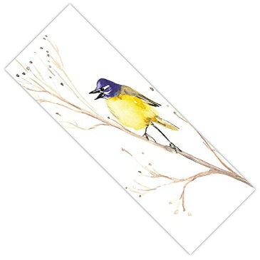 【ダイアノウチェ・デザインズヨガマットby BrazenデザインStudioツメナガセキレイ鳥、24 x 72標準】