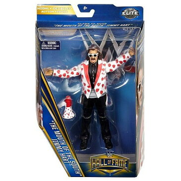 【WWE Wrestling Elite Collection Hall of Fame Jimmy Mouth of the South Hart 6 Action Figure】 b01af0a3mo