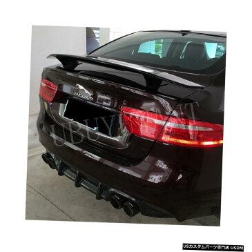 輸入カーパーツ ジャガーXE XFユニバーサルカースポイラー用汎用カースタイリングABS素材と表面カーボンファイバーリアスポイラー General Purpose Car Styling ABS Material and Surface Carbon Fiber Rear Spoiler for Jaguar XE XF Universal Car Spoiler