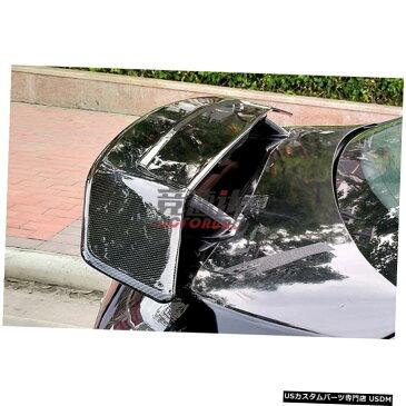輸入カーパーツ ジャガーXEXFユニバーサルカースポイラー用の汎用カースタイリングABS素材と表面カーボンファイバーリアスポイラー General purpose car styling ABS material and surface carbon fiber rear spoiler for Jaguar XE XF universal car spoiler