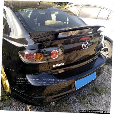 輸入カーパーツ マツダ3セダン2007-2012ユニバーサルカースポイラー用汎用カースタイリングABS素材と表面カーボンファイバーリアスポイラー General Purpose Car Styling ABS Material and Surface Carbon Fiber Rear Spoiler for Mazda 3 Sedan 2007-2012 Universal Car Sp