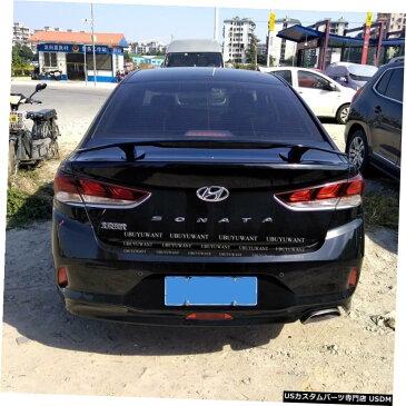 輸入カーパーツ ヒュンダイSONATA2017ユニバーサルカースポイラー用汎用カースタイリングABS素材と表面カーボンファイバーリアスポイラー General Purpose Car Styling ABS Material and Surface Carbon Fiber Rear Spoiler for For Hyundai SONATA 2017 Universal Car Spoi