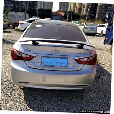 輸入カーパーツ ヒュンダイSONATA2011ユニバーサルカースポイラー用汎用カースタイリングABS素材と表面カーボンファイバーリアスポイラー General Purpose Car Styling ABS Material and Surface Carbon Fiber Rear Spoiler for For Hyundai SONATA 2011 Universal Car Spoi