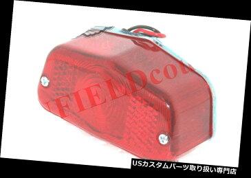USテールライト ルーカスタイプレッドレンズリアブレーキランプテールライトBSAノートントライアンフマッチレスS2U Lucas Type Red Lens Rear Brake Lamp Taillight BSA Norton Triumph Matchless S2U