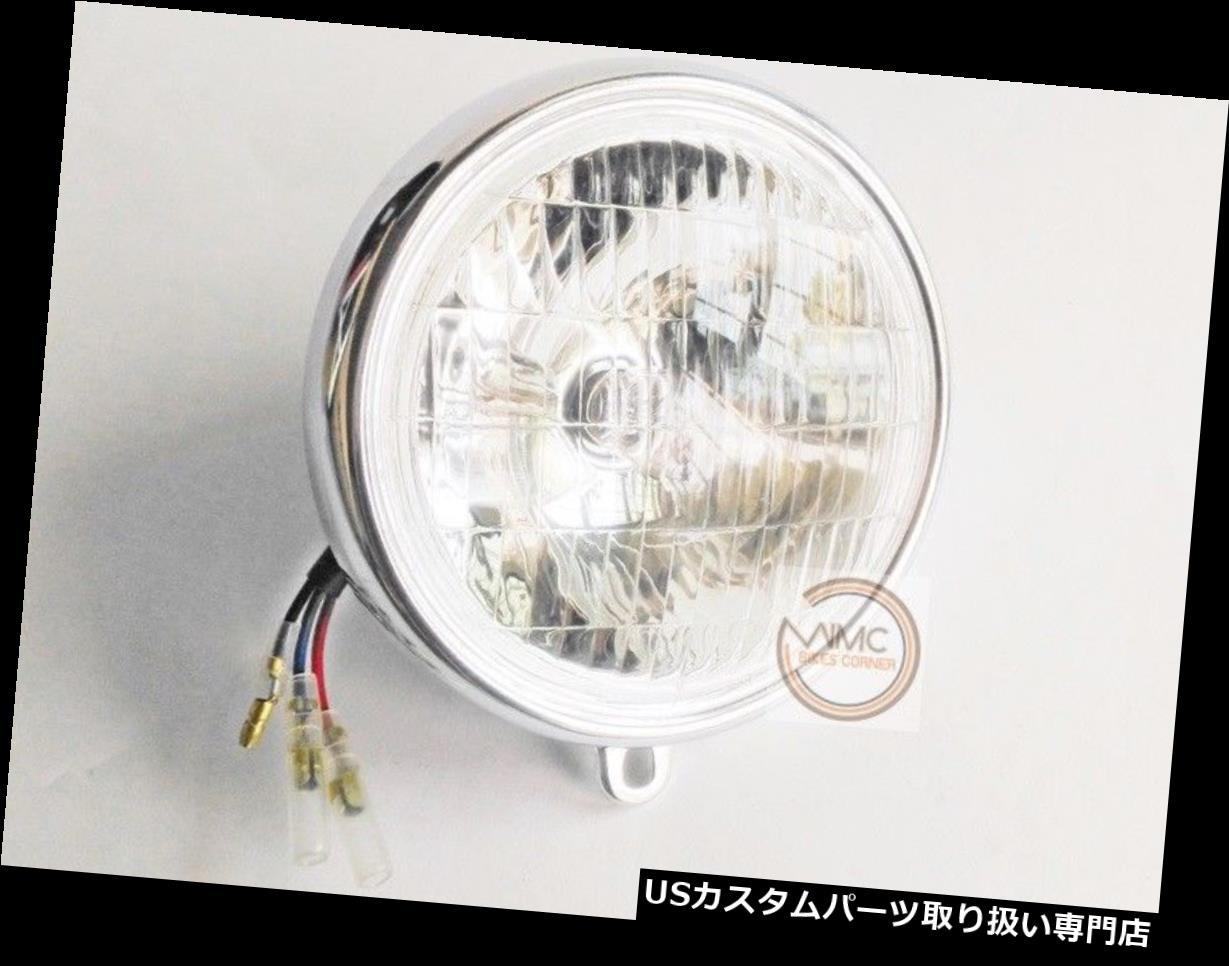ライト・ランプ, ヘッドライト US CD65 CD70 CHALY CF50 CF70 SS50 DAX ST50 ST706V HONDA CD65 CD70 CHALY CF50 CF70 SS50 DAX ST50 ST70 HEAD LIGHT LAMP ASSY 6V.