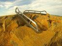 """USパーツ オフロードロックスライダヘビーデューティートヨタハイラックスピックアップタコマ4ランナークローラー60 """" Off Road Rock Sliders Heavy Duty Toyota Hilux Pickup Tacoma 4runner Crawler 60"""""""