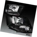 ヘッドライト 09-17 Dodge RAM 1500 Black/C...