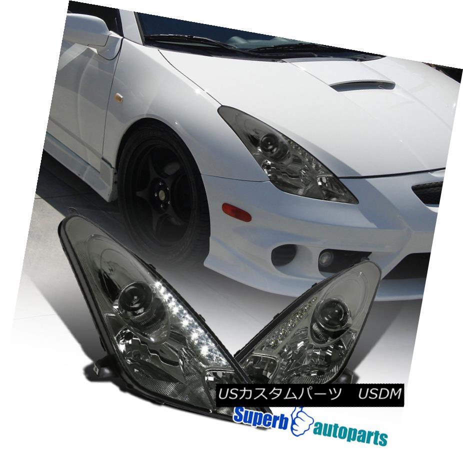 PLUG/&PLAY 2003-2006 Chevy Silverado 1500 2500 3500 HD Smoke Bumper Head Lights