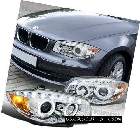 ヘッドライト 2007-2013 BMW E82 E88 128i 135i Halo Led Projector Headlight Chrome SpecD Tuning 2007-2013 BMW E82 E88 128i 135i Halo LedプロジェクターヘッドライトChrome SpecD Tuning