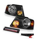 ヘッドライト 04-08 Ford F150 Lariat Infinity Black Headla...