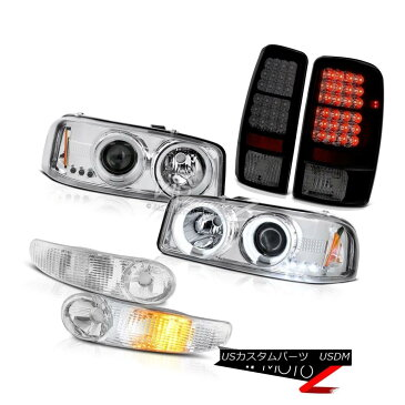 ヘッドライト GMC Yukon CCFL Halo Headlights Euro Parking Bumper LED Tail Lights 00-06 Denali GMCユーコンCCFL Haloヘッドライトユーロ駐車場バンパーLEDテールライト00-06デナリ
