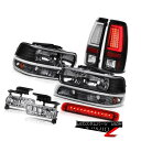 ヘッドライト 99-02 Silverado 4.3L Taillamps 3rd Brake Lamp Fog Lights Bumper Light Headlights 99-02 Silverado 4.3L Taillamps第3ブレーキランプフォグライトバンパーライトヘッドライト