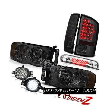 ヘッドライト 02-05 Ram 2500 Left Right Smoke Headlights LED Tail Lights Foglamps Roof Brake 02-05 Ram 2500 Right Right Smoke Headlights LEDテールライトフォグランプ屋根ブレーキ