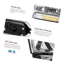 ヘッドライトEuroSMDBumper+HeadlampsLEDTailLamps00-06Suburban6.0LGlassProjectorFogユーロSMDバンパー+ヘッドラムpsLEDテールランプ00-06郊外6.0Lガラスプロジェクターフォグ
