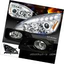 ヘッドライト For 06-07 Accord 4Dr Halo Projector Headligh...