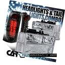ヘッドライト 94-99 Chevy C10 C/K Suburban Clear Headlight...