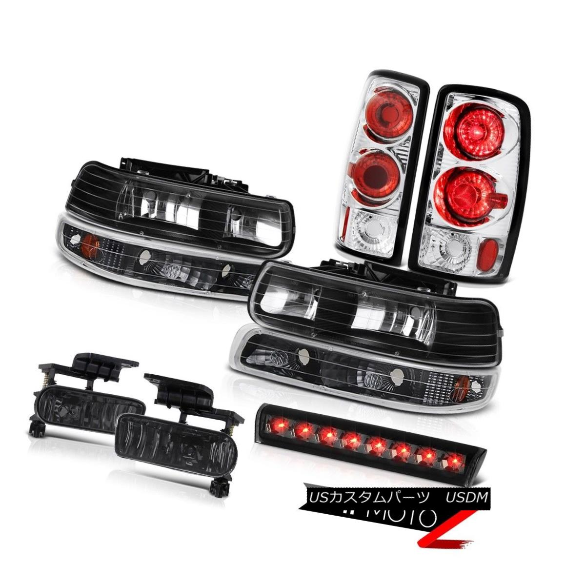 ライト・ランプ, ヘッドライト  2000-2006 Tahoe LS Roof cab light fog lamps clear chrome tail parking Fog Lights 2000-2006LS