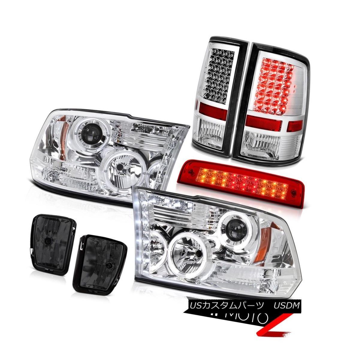ヘッドライト 13-18 Ram 1500 SpoRT Bloody Red Roof Cargo Lamp Fog Lights Tail Headlamps LED 13-18ラム1500 SpoRTブラッディレッド屋根カーゴランプフォグライトテールヘッドランプLED画像