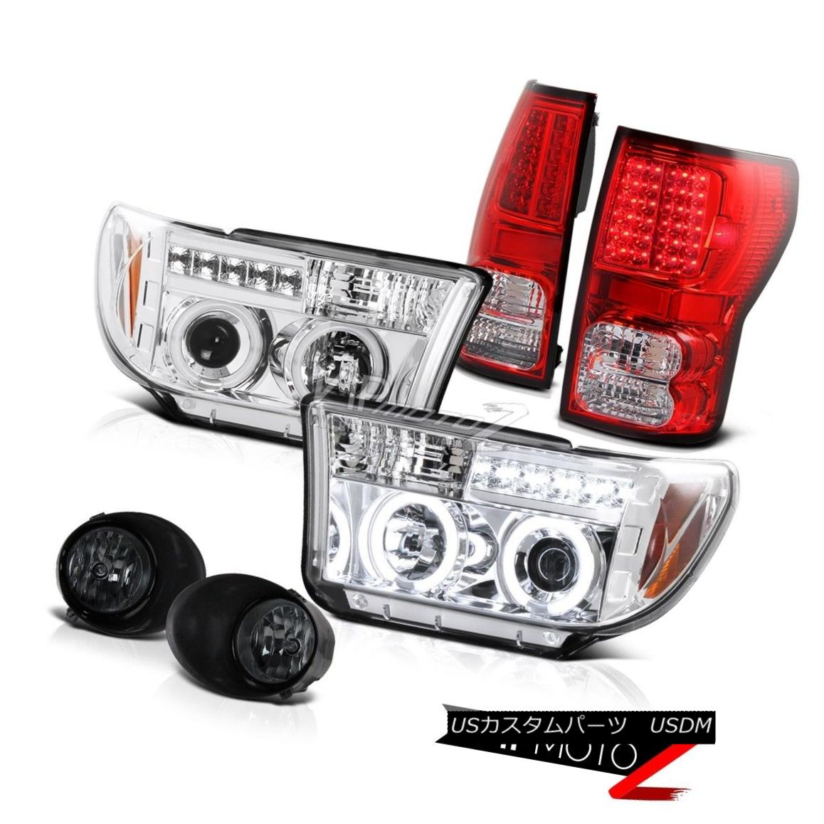 ライト・ランプ, ヘッドライト  07-2013 CCCFL Halo Projector HeadlightLed Tail LightFog Lamp 07-13 Tundra 07-2013 CCFL Led Fog07-13 Tundra