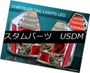 テールライト 2005-2007 CHRYSLER 300C 300-C SRT-8 SEDAN 4-DOOR CLEAR LED TAIL LIGHTS 2005-2007 CHRYSLER 300C 300-C SRT-8セダン4ドアドアLEDテールライト
