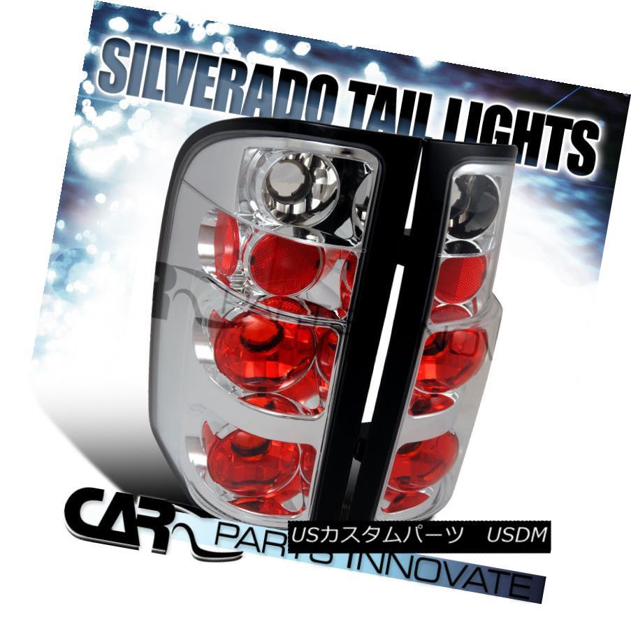 ライト・ランプ, ブレーキ・テールランプ  07-14 Silverado 150025003500 Tail Lights Rear Brake Lamp Altezza Chrome 07-14 Silverado 150025003500Altezza Chrome