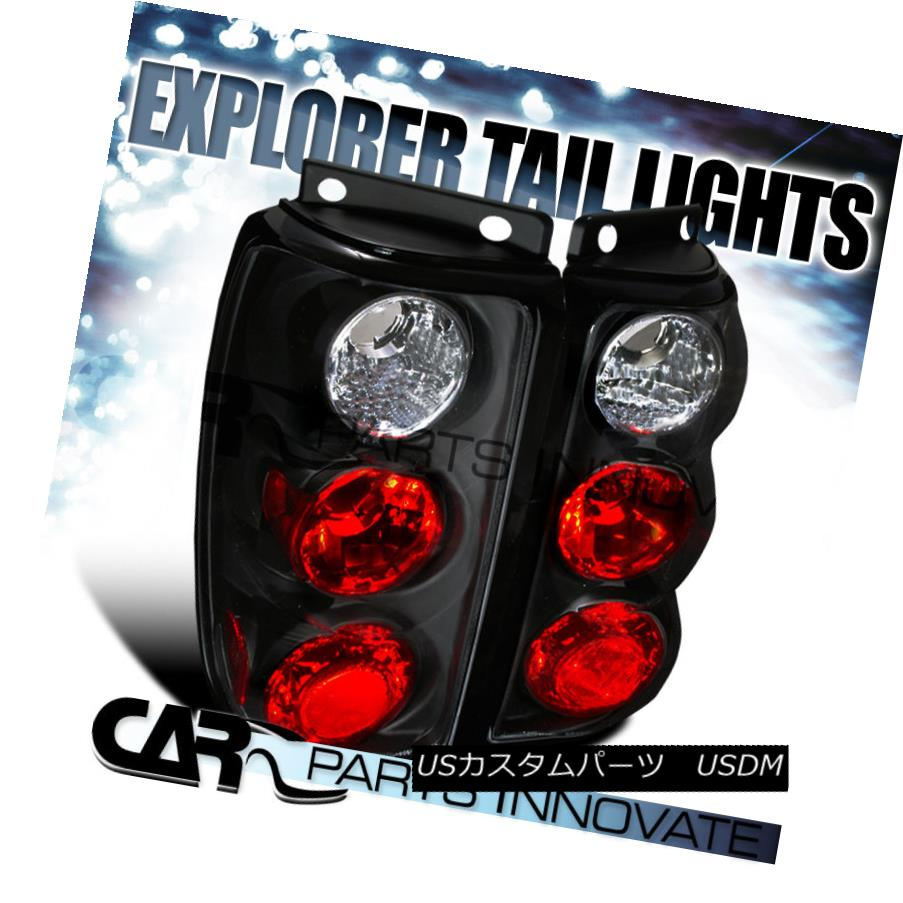 ライト・ランプ, ブレーキ・テールランプ  Ford 95-97 Explorer Tail Lights Rear Brake Lamp Altezza Black 95-97