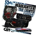 テールライト 94-01 Ram Smoke Crystal Headlights+Tail Ligh...