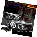 テールライト 00-06 GMC Yukon Denali Black Halo LED Projec...