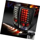 テールライト For 04-13 Titan Black LED Tail Lights+60