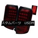 テールライト Scion 08-10 Xb LED Red Smoked Rear Tail Brak...
