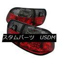 テールライト Honda 96-98 Civic 4dr Red Smoke LED Tail Lig...