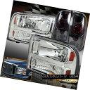 テールライト 1999-2004 Ford F250 F350 Chrome Headlights F...