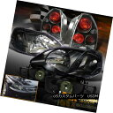 テールライト 1999-2000 Honda Civic HATCHBACK JDM Black He...