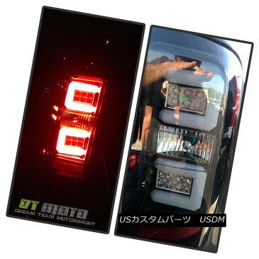 テールライト 2014-2017 Silverado C-Shape Lumiled LED Tube Blk Tail Lights Lamp Left+Right 2014-2017 Silverado C形ルミールLEDチューブBlkテールライトランプ左+右