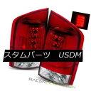 テールライト For 05-12 Nissan Armada Red Euro Clear LED T...