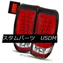 テールライト For 99-02 Chevy Silverado Fleetside Red Clea...