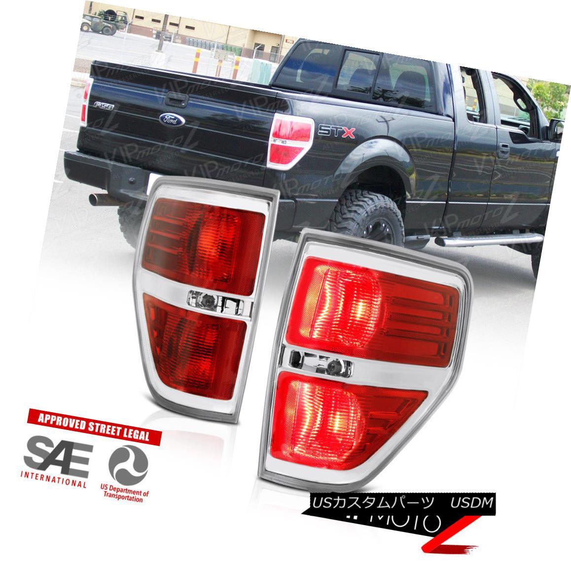 For Black 2007-2013 Toyota Tundra LED Tail Lights Brake Lamps 07-13 Left+Right
