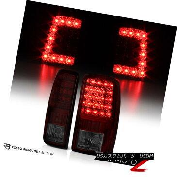 テールライト [DARK CHERRY RED] 2000-2006 GMC Yukon XL Tahoe Suburban C-Shape LED Tail Lights [DARK CHERRY RED] 2000-2006 GMC Yukon XL Tahoe郊外C形LEDテールライト