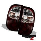 テールライト 2005-2006 Tundra Access Cab [Smoked Red] Rear Tail Lamps Lights Left Right Set 2005-2006 Tundra Access Cab [スモーク・レッド]リアテールランプライト・ライト・セット