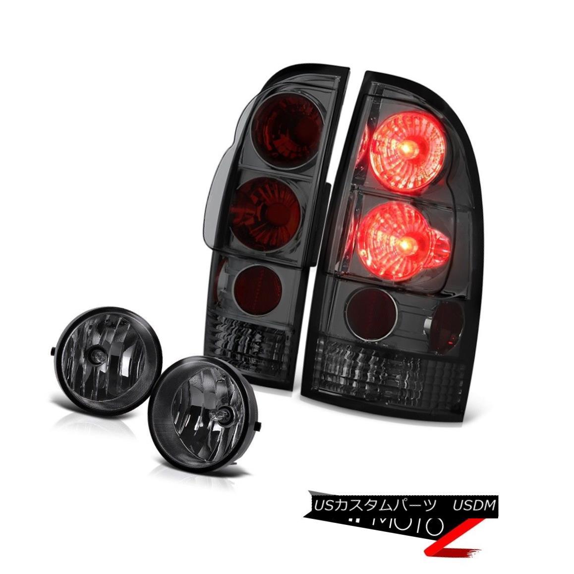 テールライト 2005-2011 toyota tacoma smoke rear brake signal tail lights fog  lamps wiring kit 2005-2011 toyota tacoma smokeリアブレーキ信号テールライト