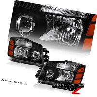 テールライトFor04-15TitanLENEWBlackHeadlampHeadlightSmokeLEDTailLightBumperFog04-15TitanLEの新型ブラックヘッドランプヘッドライトスモークLEDテールライトバンパーフォグ